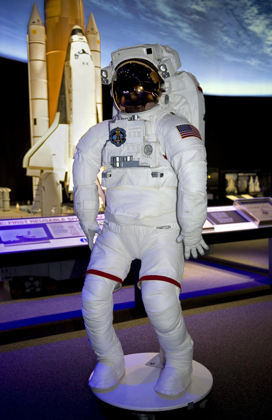 Mock Space Shuttle Suit