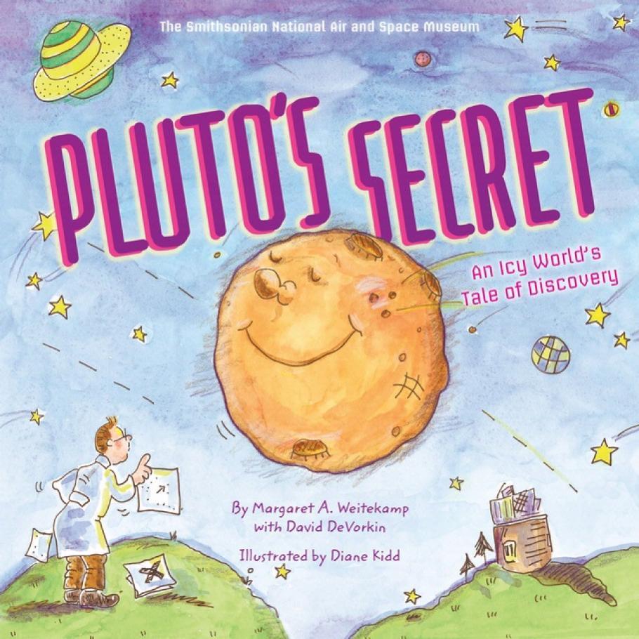 Book cover: Pluto's Secret