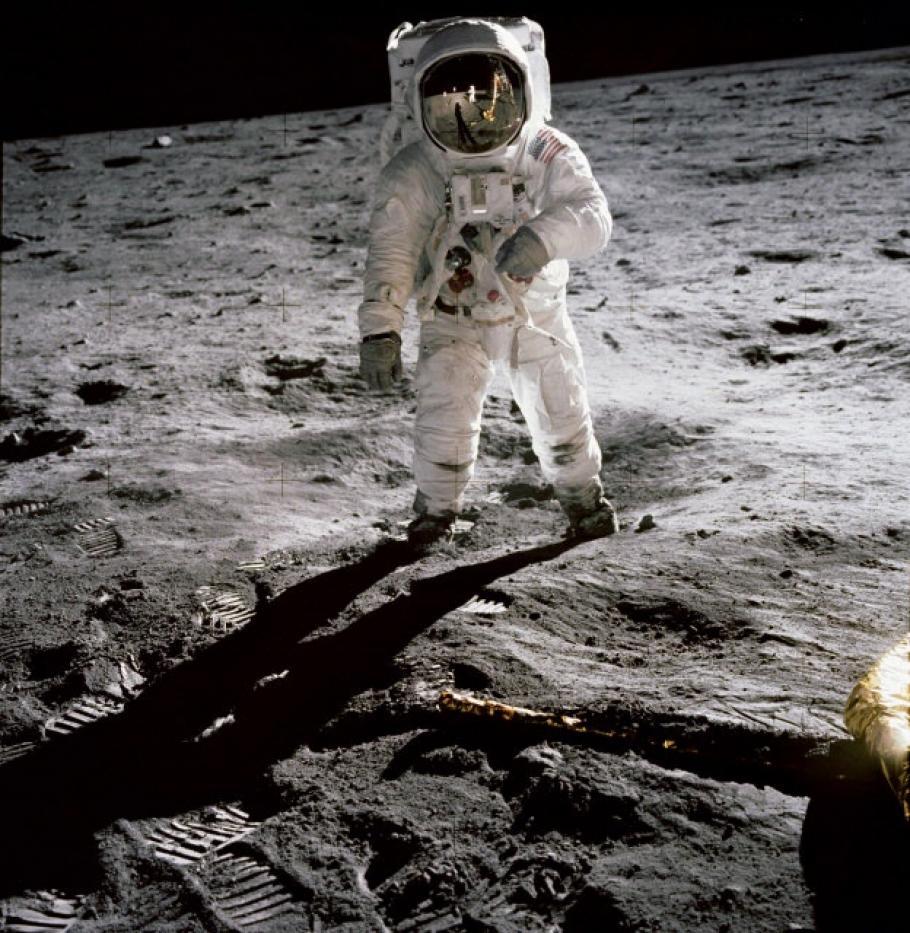 Apollo 11 Photograph - Buzz Aldrin