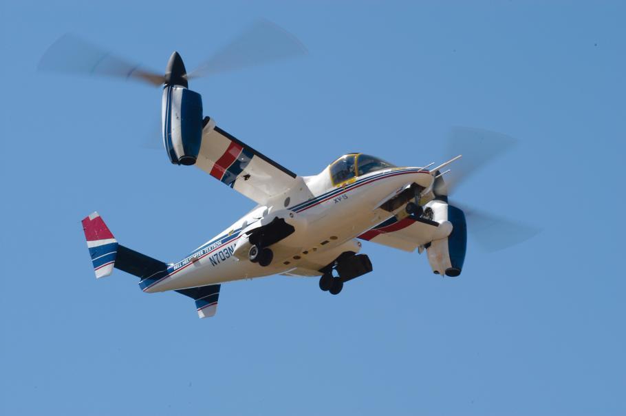 Bell XV-15 Tilt Rotor Research Aircraft at the Udvar-Hazy Center