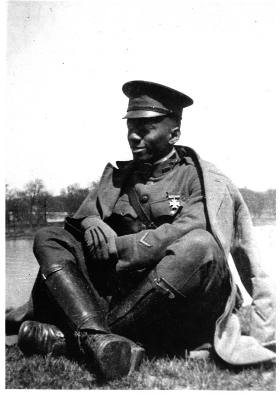 William J. Powell in 1917