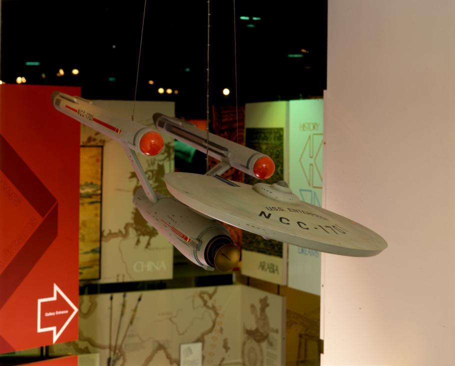 "Starship \""Enterprise\"" Model in 1987"
