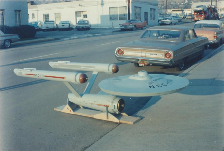 "Starship \""Enterprise\"" Model in 1964"