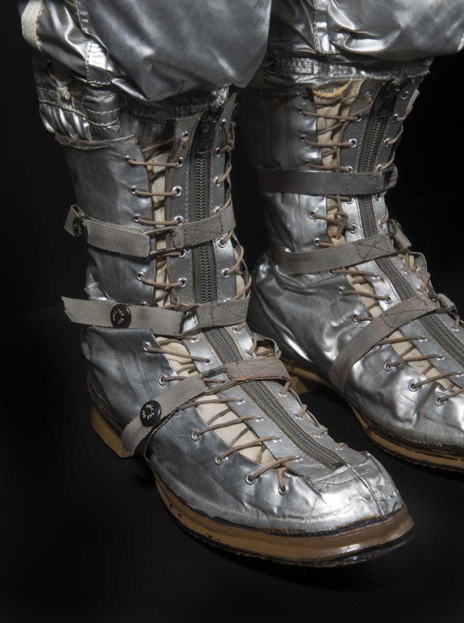 John Glenn Mercury Spacesuit Right Boot