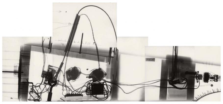 """Star Trek \""""Enterprise\"""" Model Restoration - X-Ray Image - Hull Composite"""