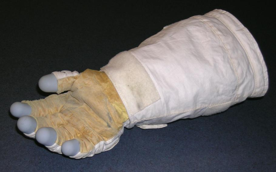 Kathryn Sullivan's EVA Glove