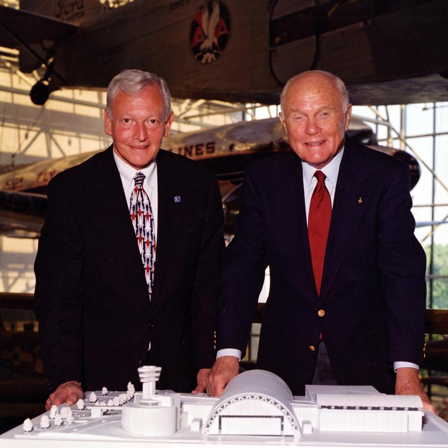Senator John Glenn and General J.R. Dailey