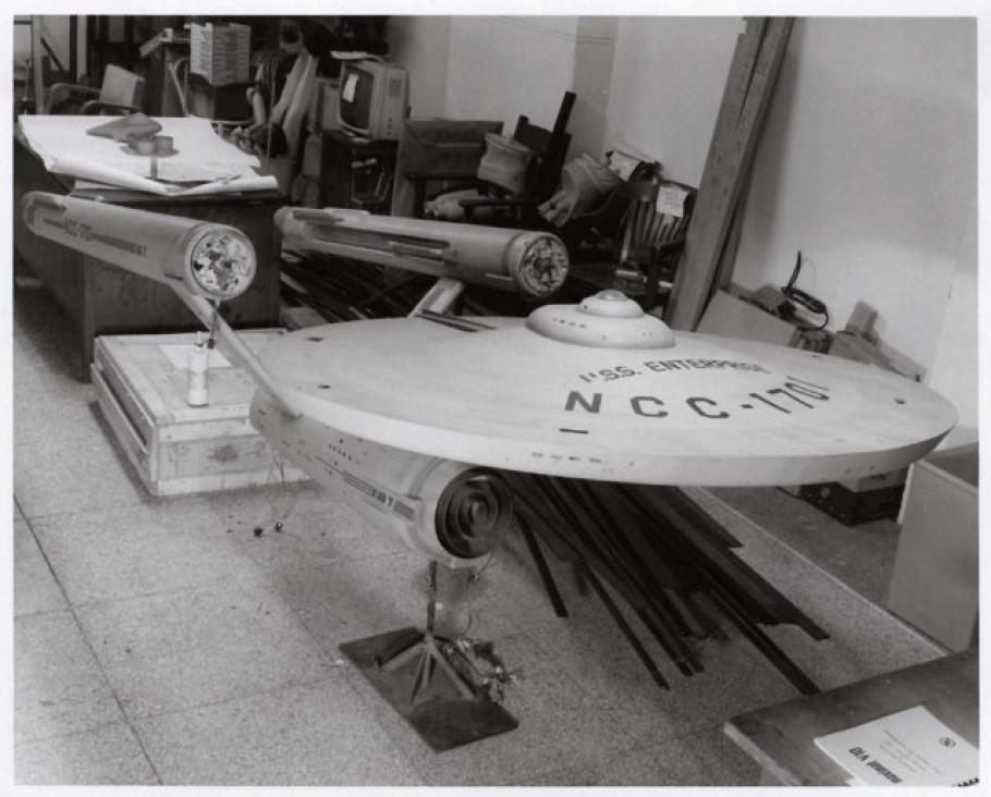 "Star Trek Starship ""Enterprise\"" Model Restoration"