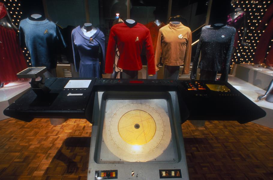 "Costumes on Display in \""Star Trek\"" Exhibition"