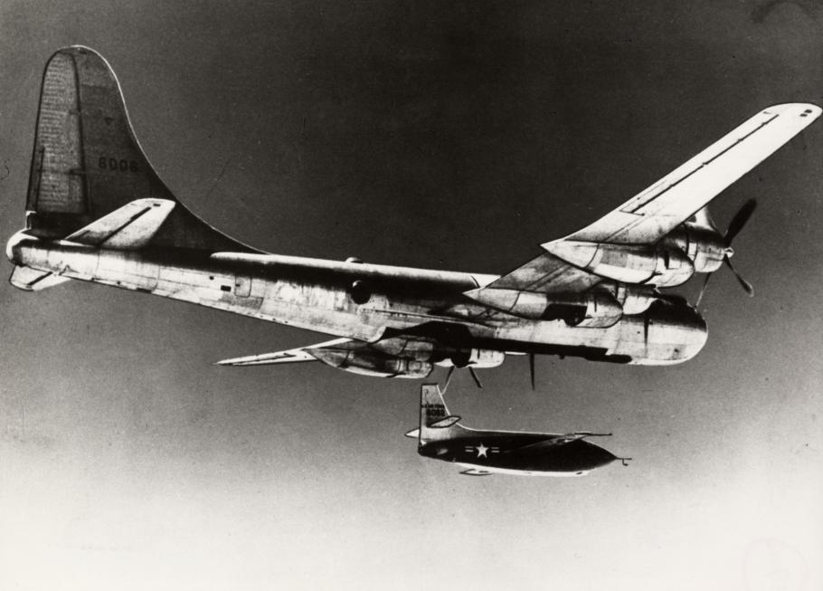 Bell X-1 Dropped from Bomber