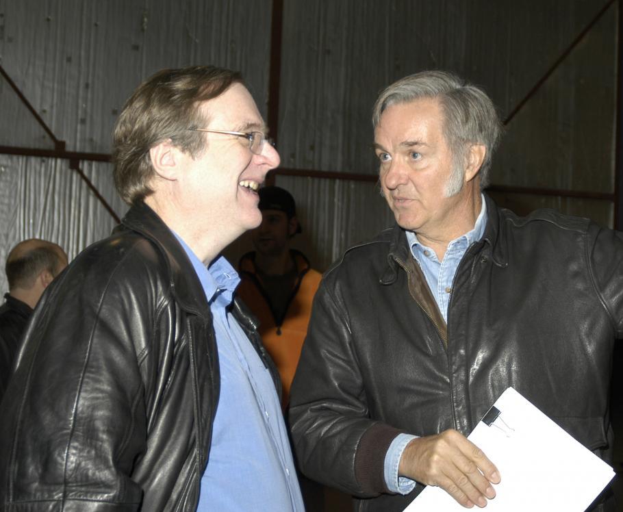Paul G. Allan and Burt Rutan