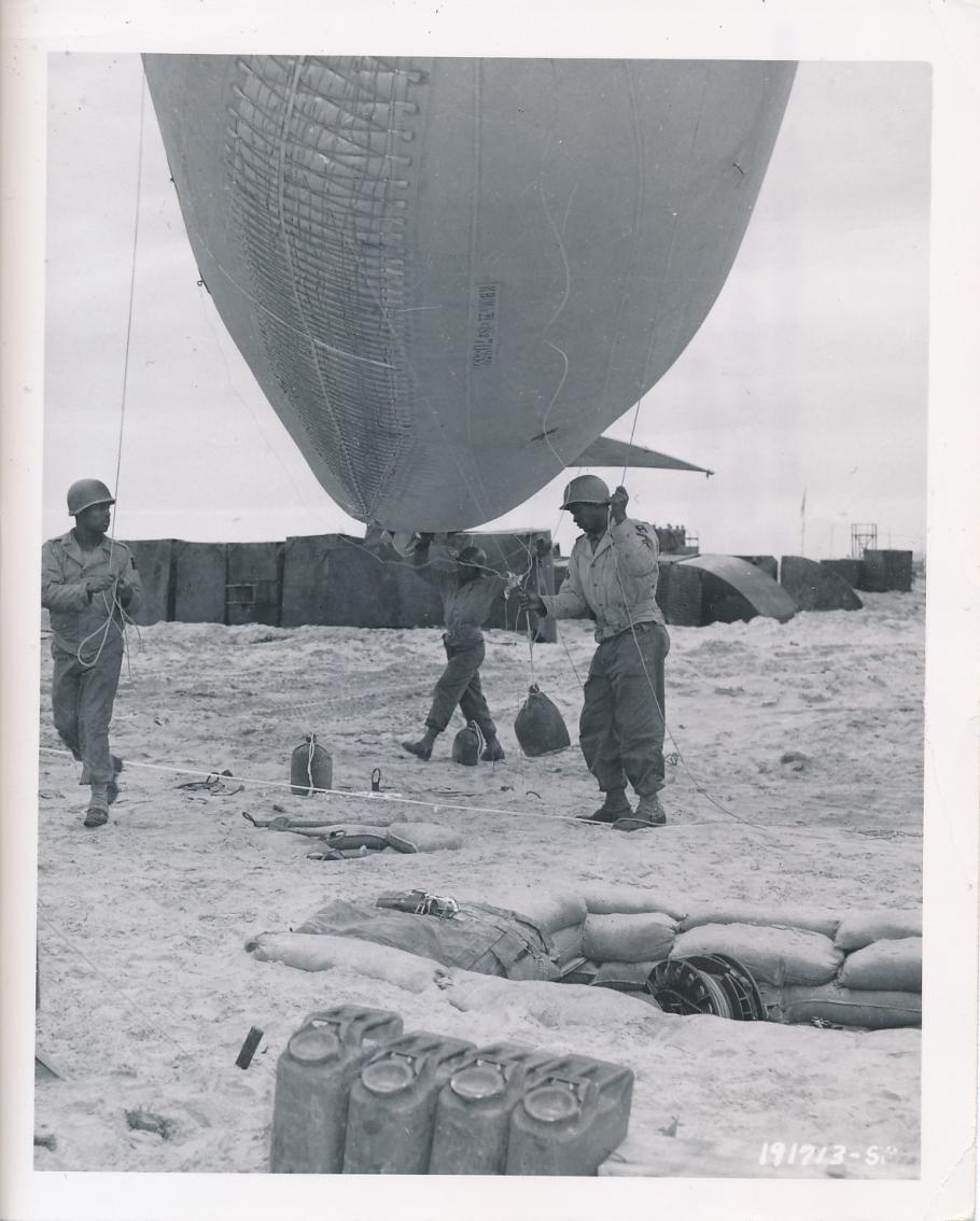 Balloons at Normandy