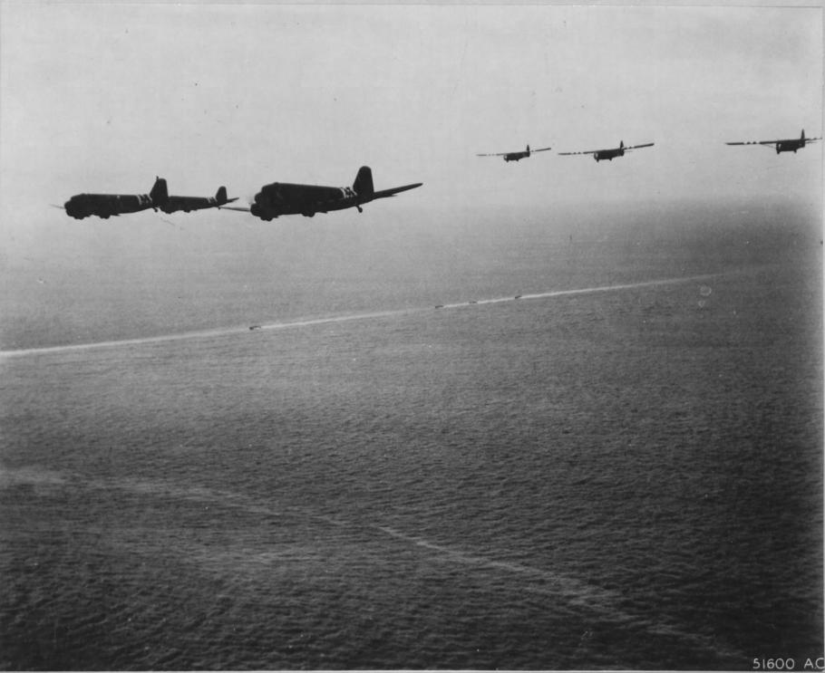 gliders and C-47