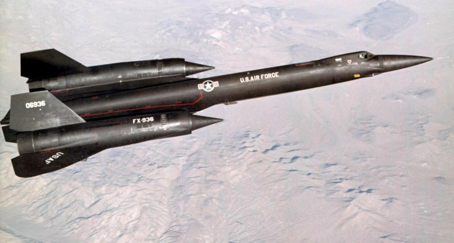 Setting Records with the SR-71 Blackbird | National Air and