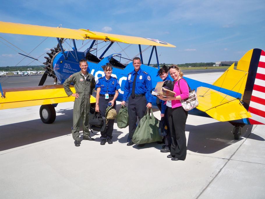 Image of the TSA team with Matt