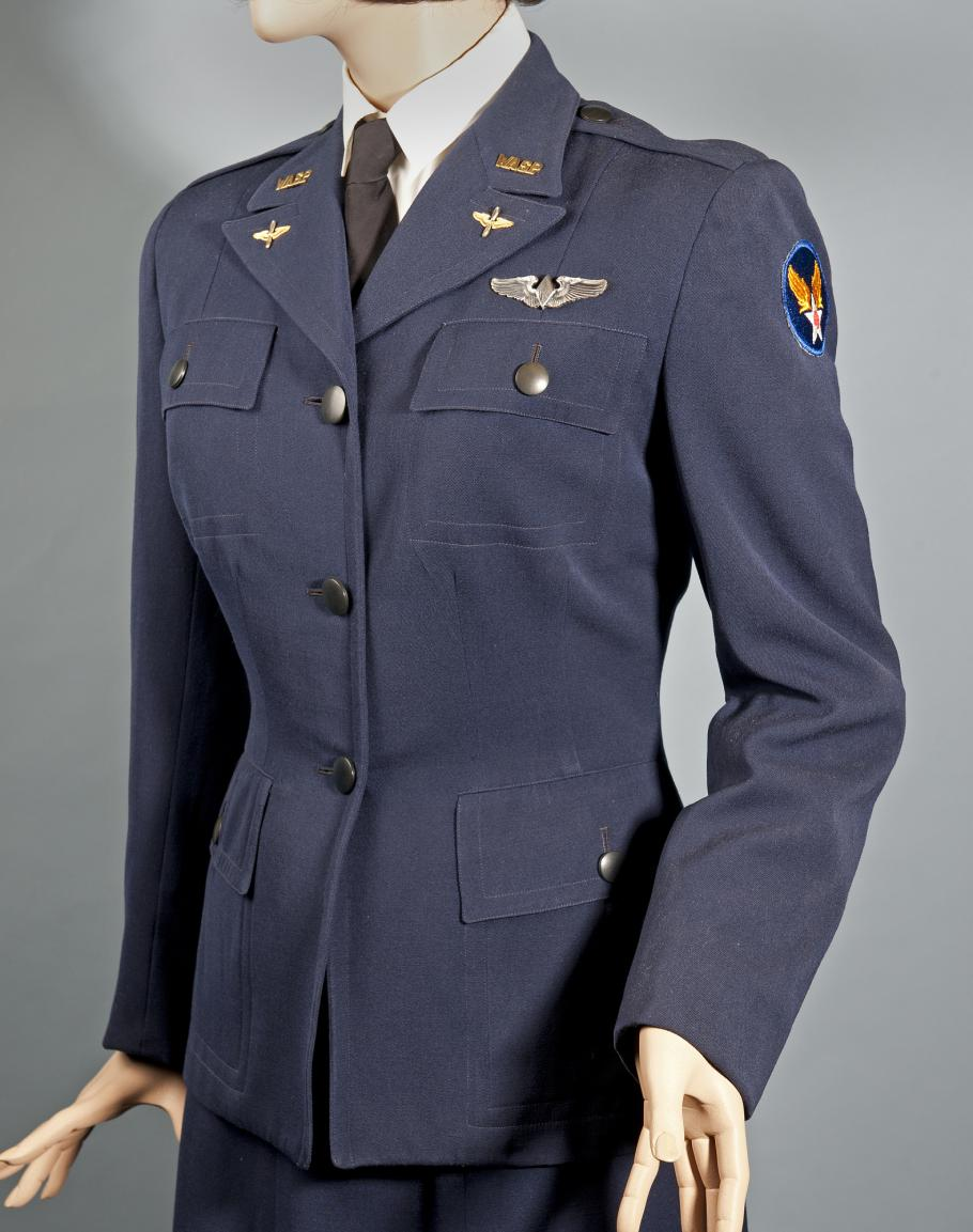 Dress uniform worn by Woman's Airforce Service Pilot (WASP)