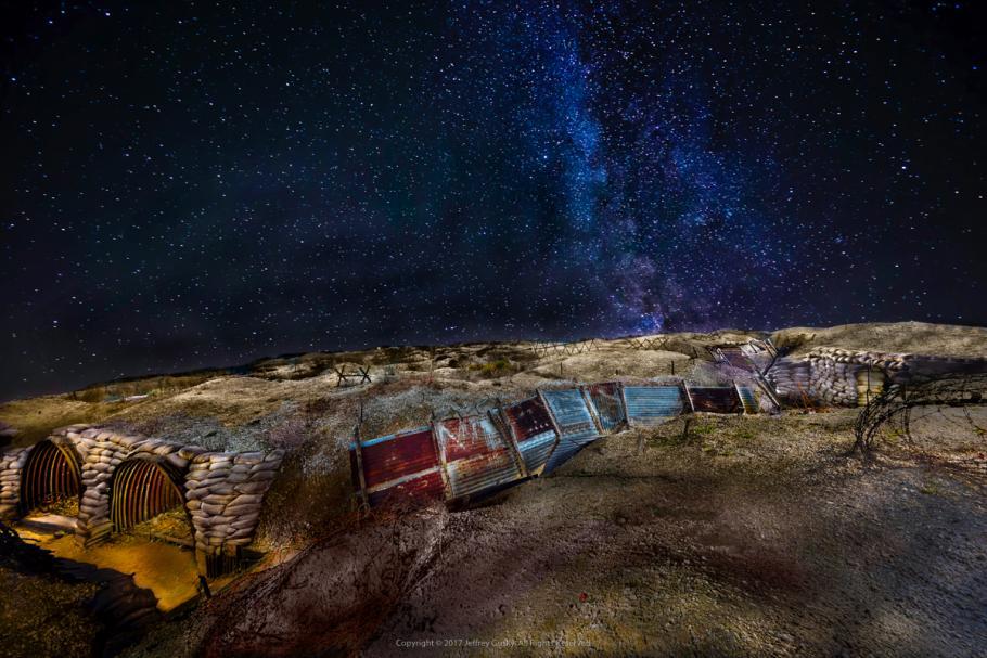 Landscape taken at night.