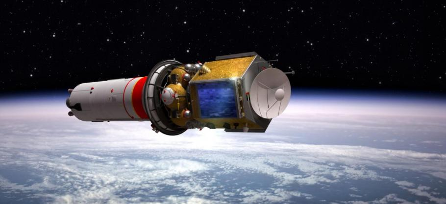 artist rendering of spacecraft