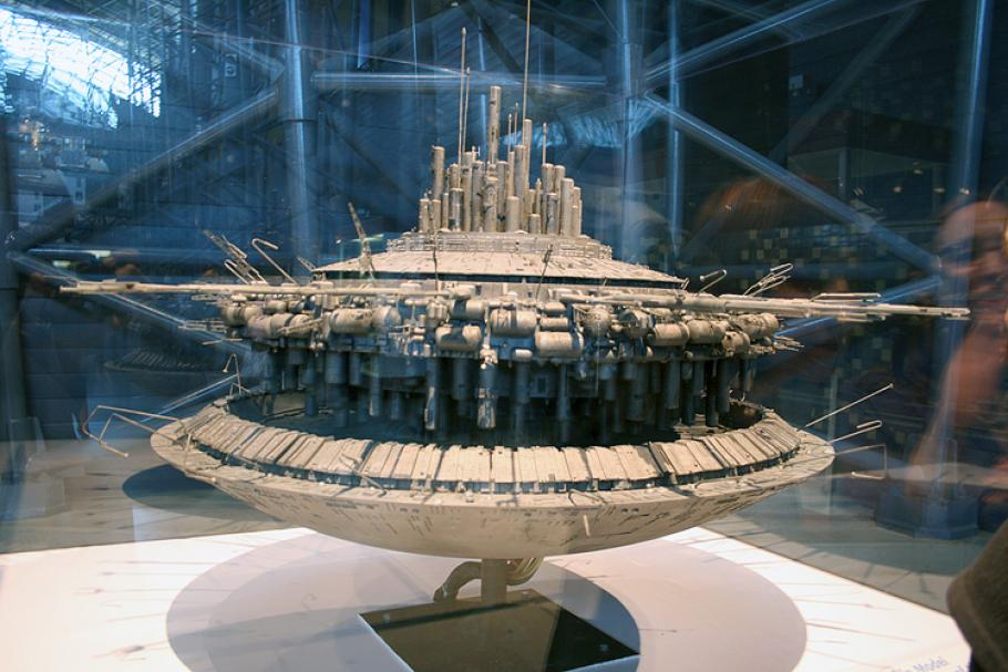 Greg Jein's model of the mothership from Close Encounters of the Third Kind