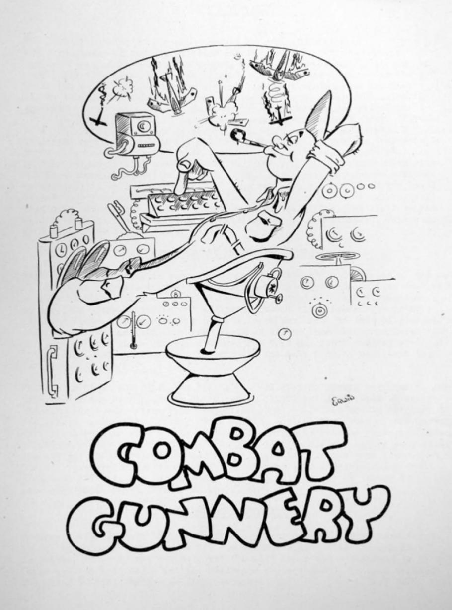 """drawing from manual """"Combat Gunnery"""""""