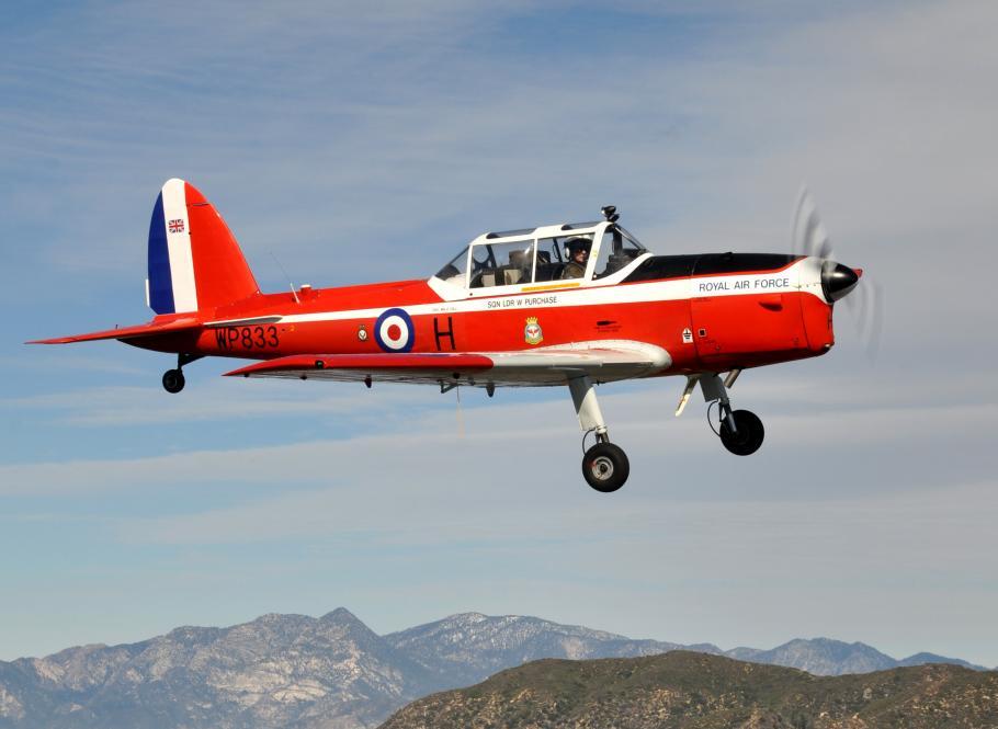 Richard Wilsher's de Havilland Chipmunk (RAF s/n WP833)