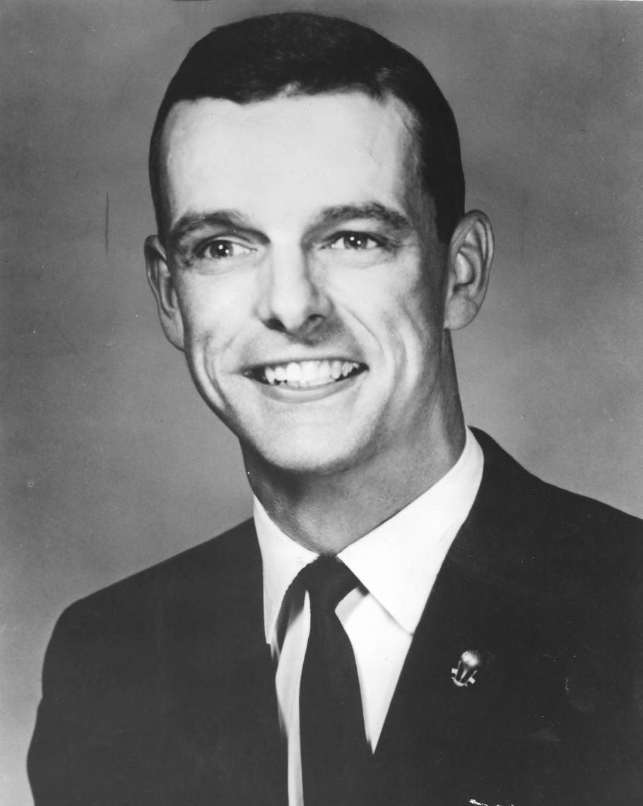 Portrait of a young Donald L. Piccard