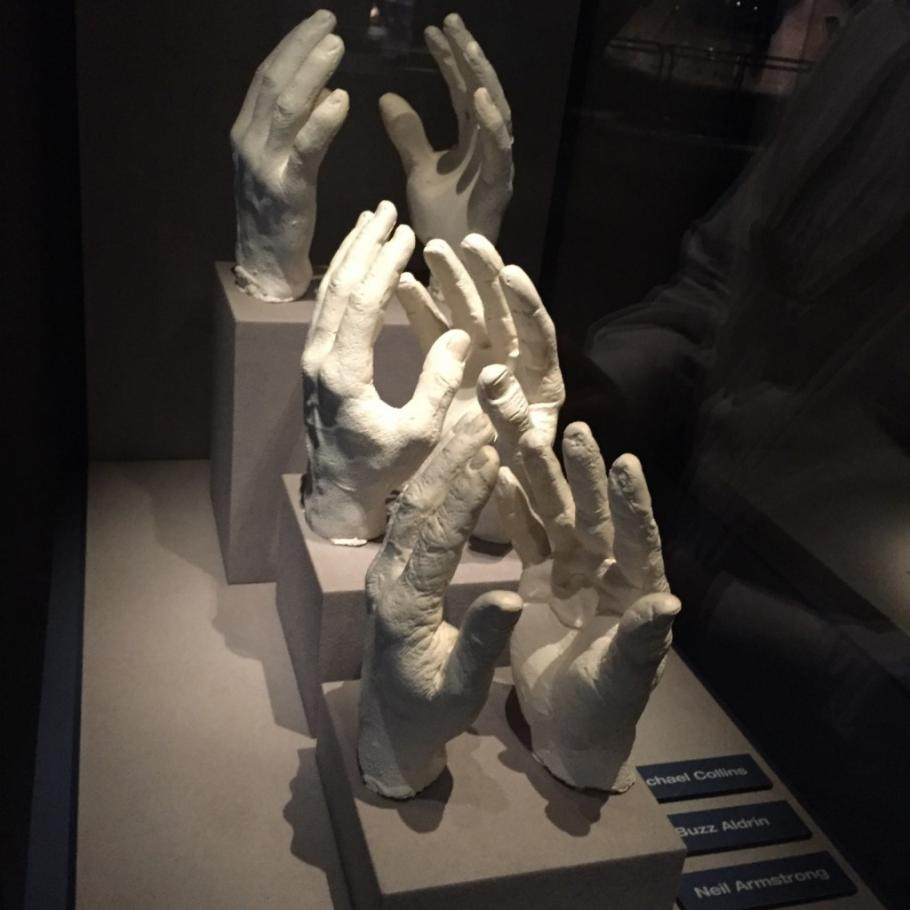 Hand-cast at the Kennedy Center.