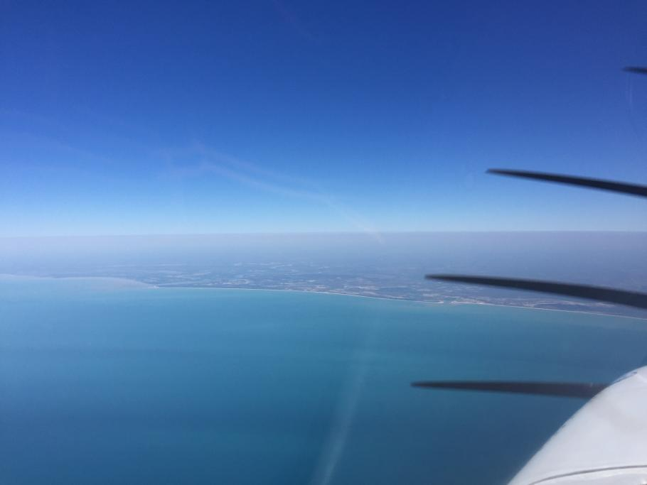 The Australian coast, as seen from the equator. Credit: Shaesta Waiz