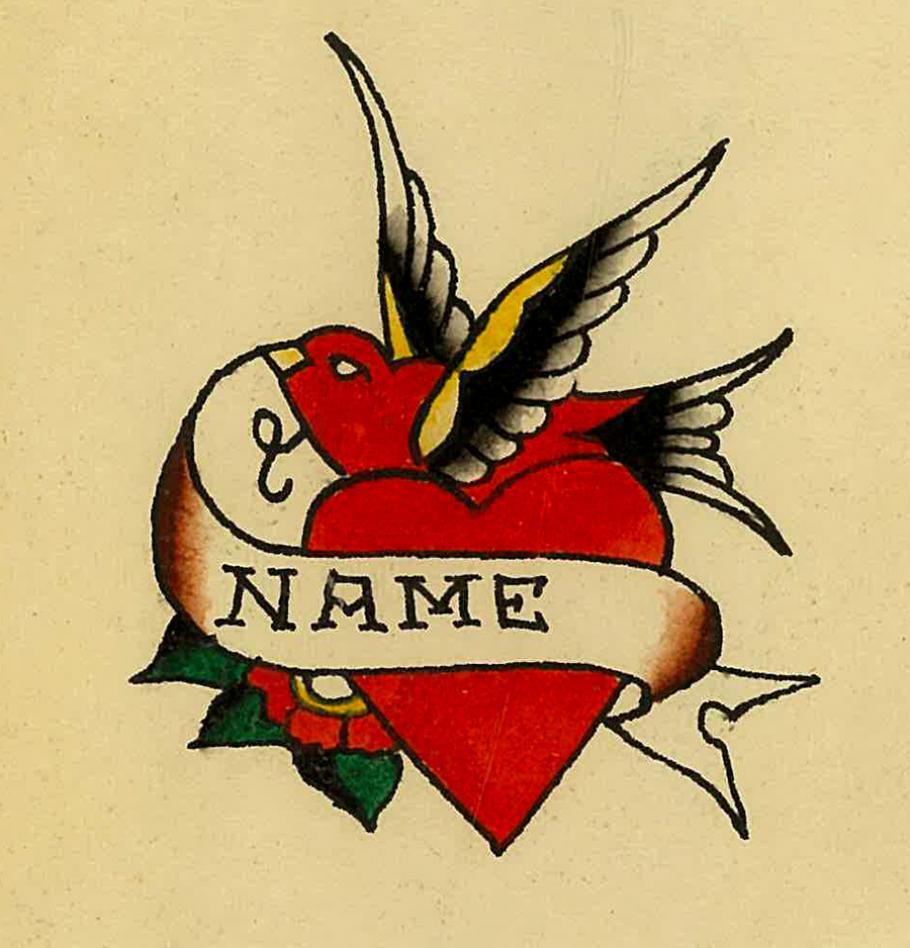 Tattoo flash art by Sailor Bill Killingsworth