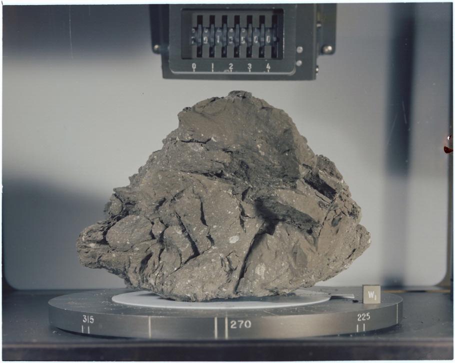 Sample of Lunar Breccia