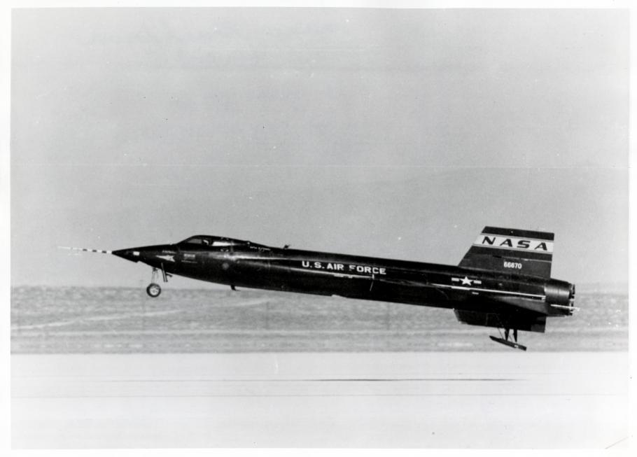 Aircraft lands