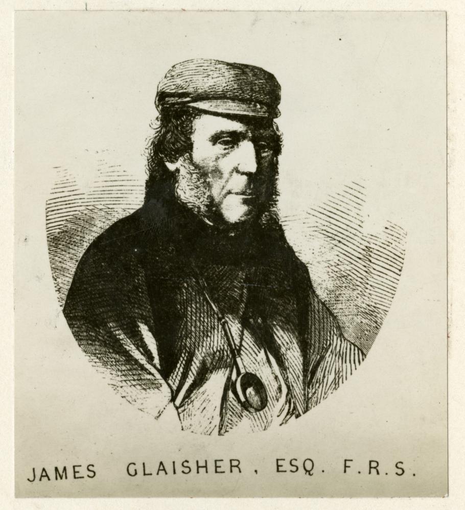 Engraving of man