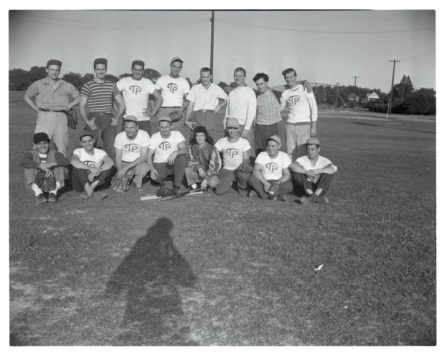 Team photograph.