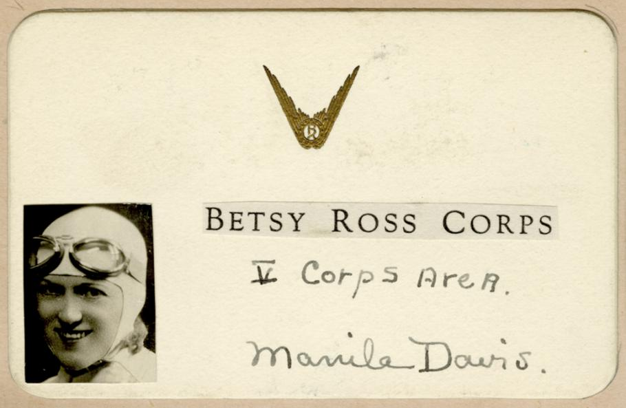 Membership card with woman's photo in lower left hand corner