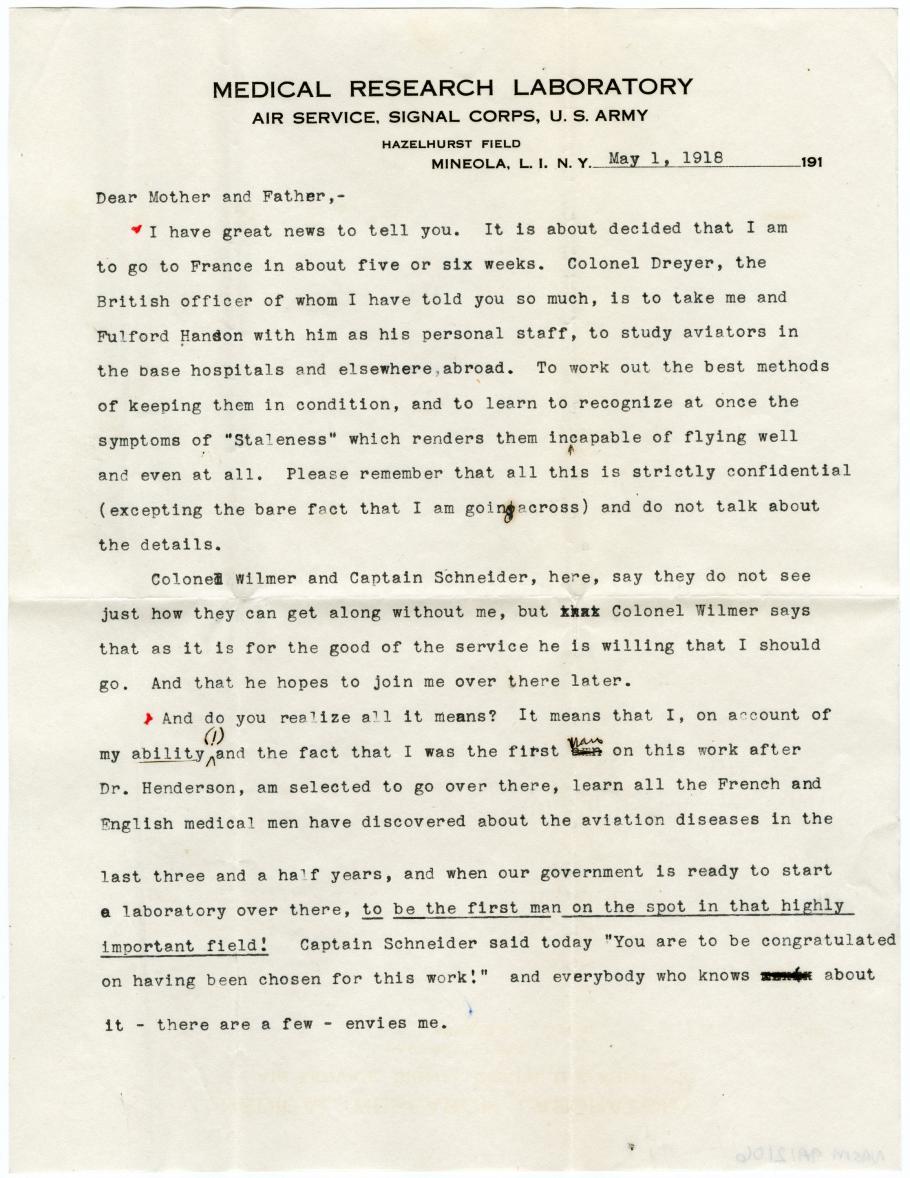 Typewritten Letter
