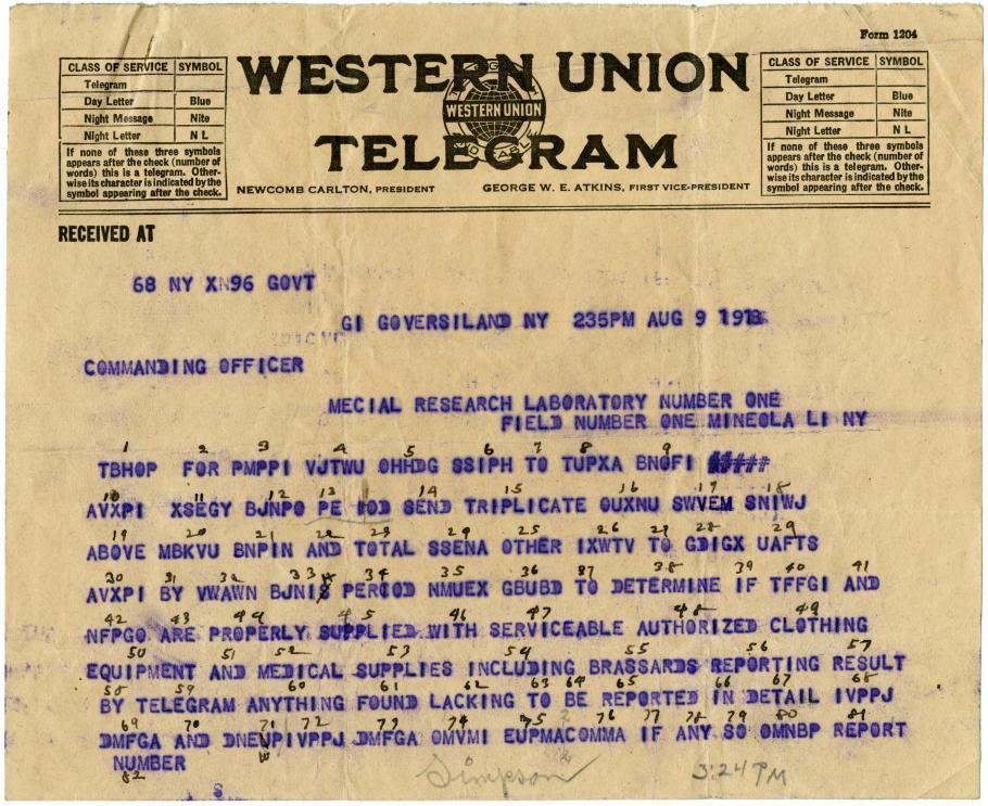 Telegram Text