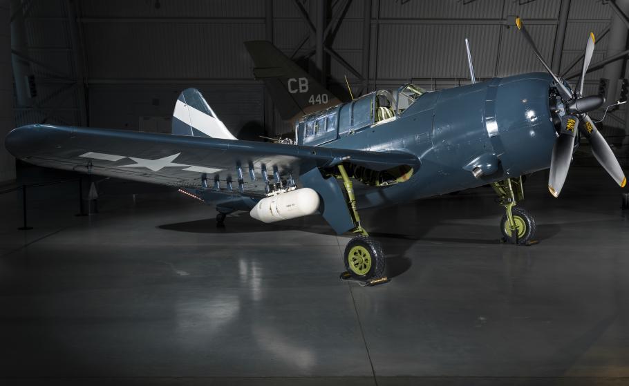 The Museum's SB2C-5