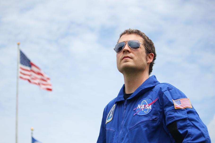 Host of AirSpace Nick Partridge