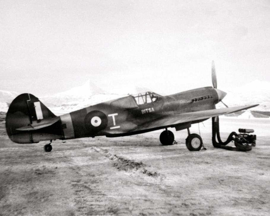 A photo of the Kittyhawk IA 875