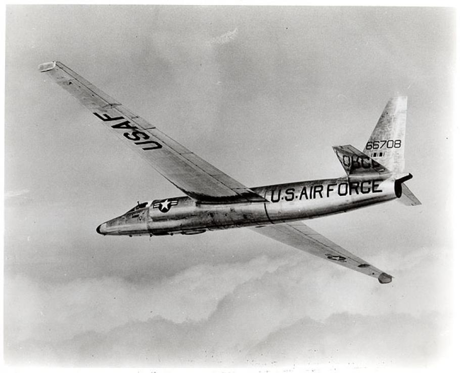 Lockheed U-2 in Flight
