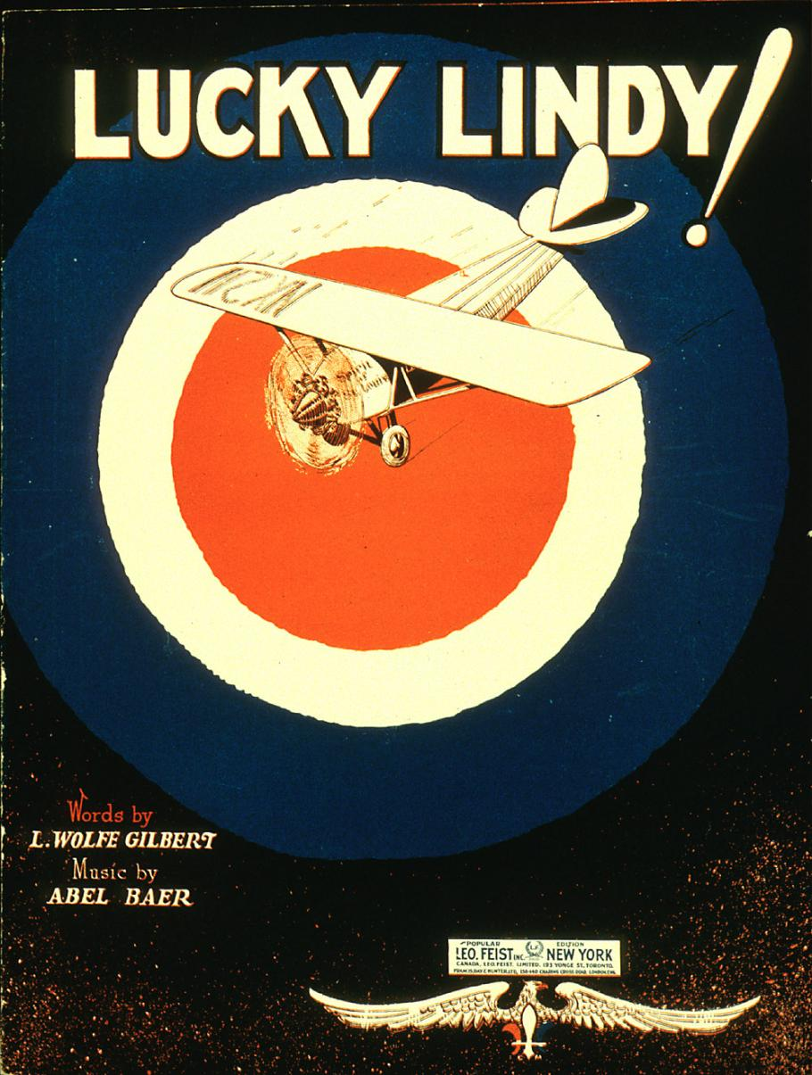 Cover of sheet music.