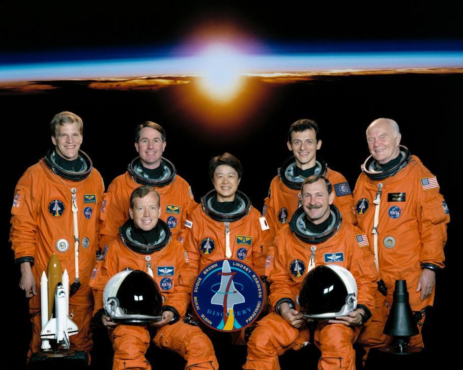 STS-95 Astronauts, including John Glenn.