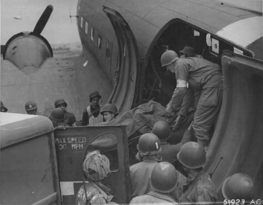 C-47 Transporting Wounded Soldiers