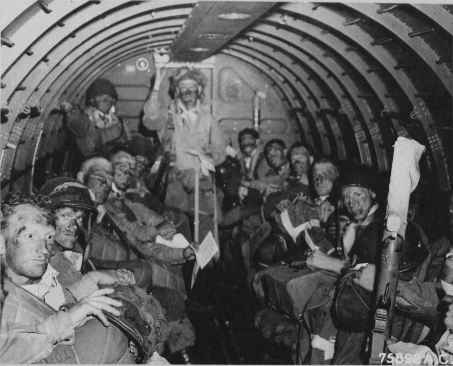 C-47 With Paratroopers