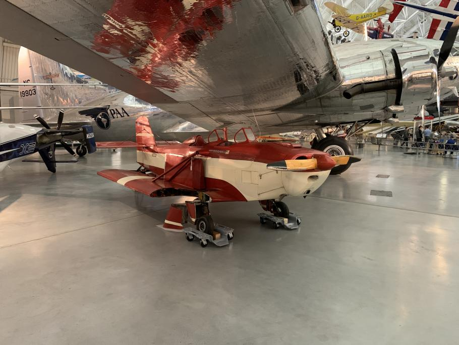 aircraft in museum