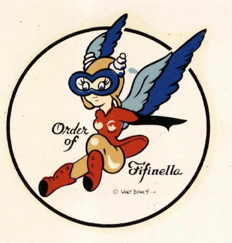 WASP alumni association, Order of the Fifinella, logo