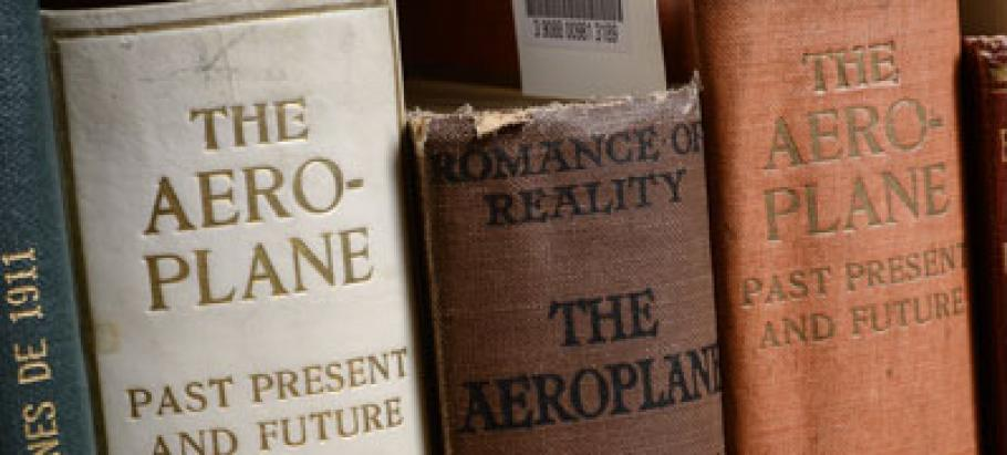 Books from the National Air and Space Museum Library