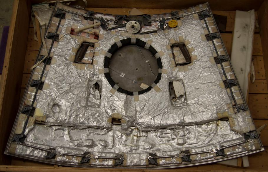 Image of the hatch isolated.