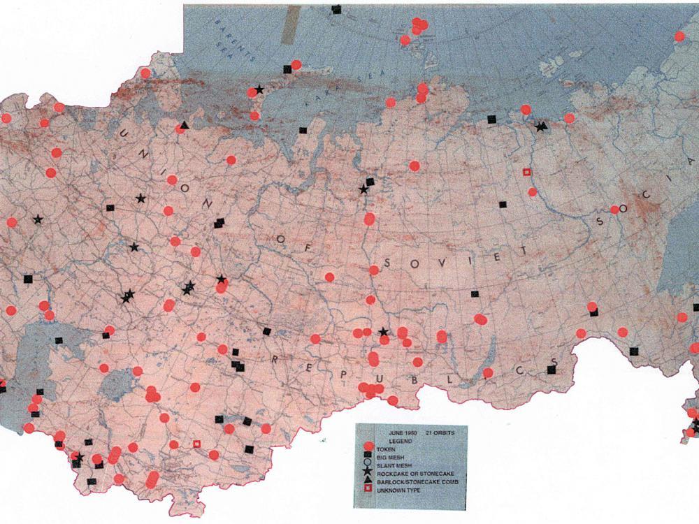 Soviet Air Defense Map
