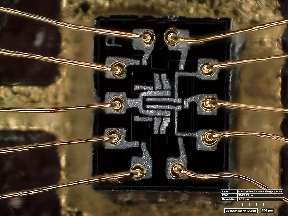 Inside of a Silicon Chip